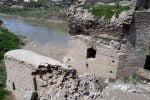 بخشی از پل تاریخی آق قلا گلستان فروریخت