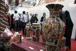 نمایش آثار طراحان برتر صنایعدستی در خانه هنرمندان