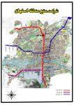 نقشه و راهنمای متروی اصفهان