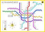 نقشه و راهنمای جدید متروی تهران
