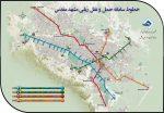 نقشه و راهنمای متروی مشهد