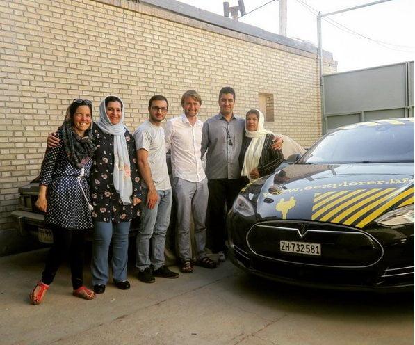 ماجراجویی زوج سوئیسی ـ آلمانی در ایران + تصاویر