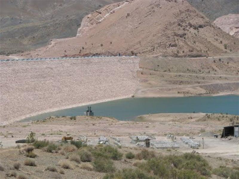دریاچه سد بافت