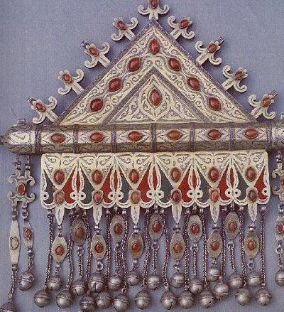 هنر زیور سازی تركمن
