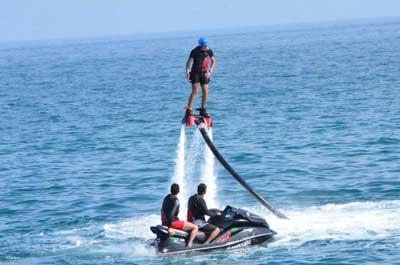جدیدترین و گرانترین تفریح آبی در ایران!