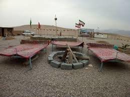 احداث كمپ گردشگري در كوير لوت سيستان و بلوچستان