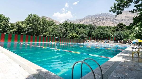 استخر روباز و بزرگ اردوگاه شهید باهنر
