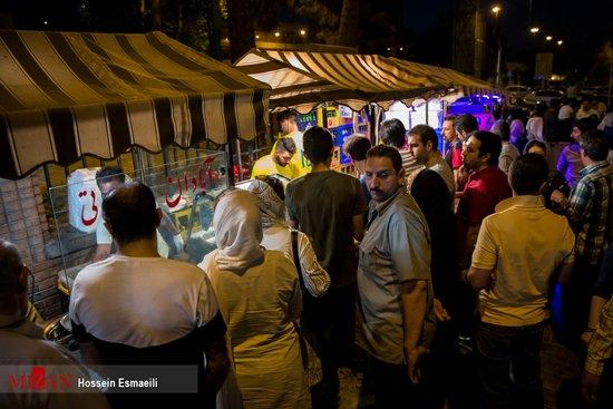 جشنواره خیابانی غذا در تهران