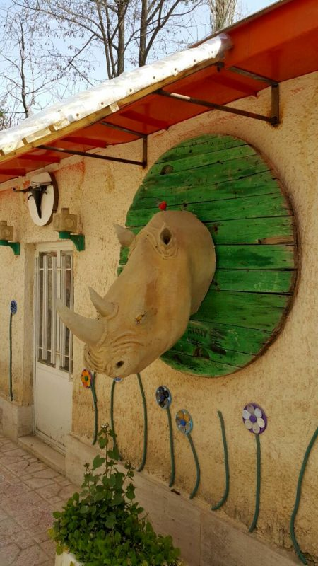 خانهای از پلاستیک در تهران
