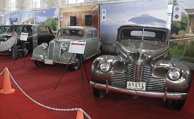 موزه خودرو های تاریخی ایران