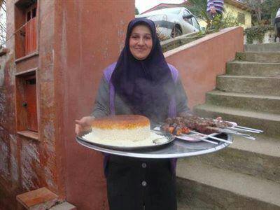 رستوران خاور خانم رودسر