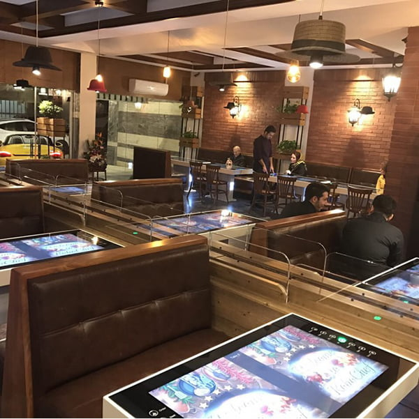 رستوران روبوشف تهران