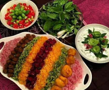 آلبالو پلو شیراز آلبالو پلو شیراز