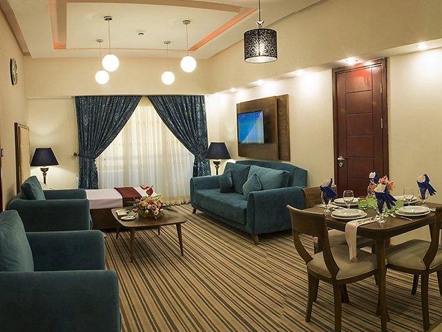 هتل آپارتمان امید مشهد