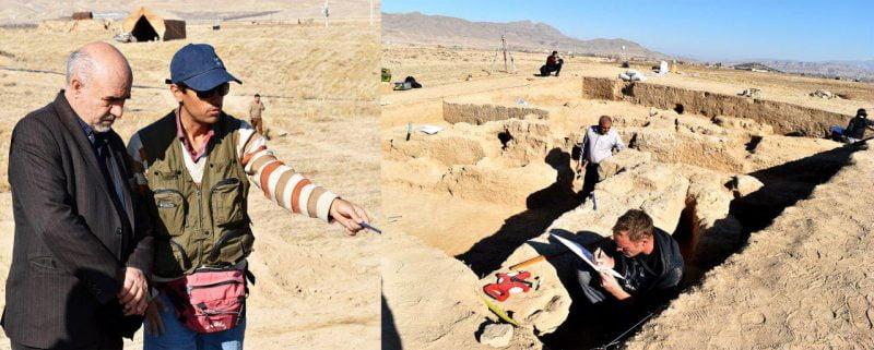 فصل پنجم پژوهش های باستان شناسی در محوطه ریوی دشت سملقان آغاز می شود