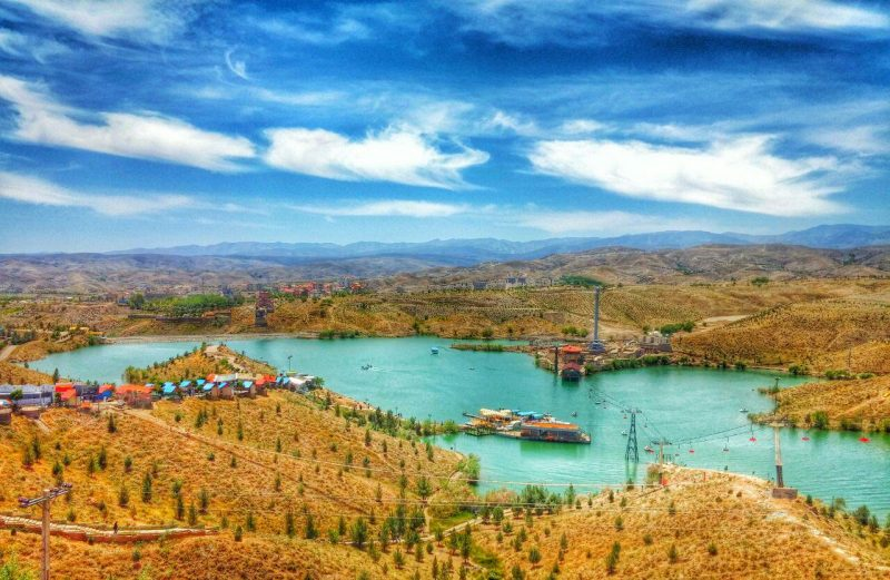 سد چالیدره از جاهای دیدنی مشهد جاهای دیدنی مشهد ،100 جاذبه گردشگری معروف