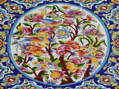 کاشی هفت رنگ شیراز