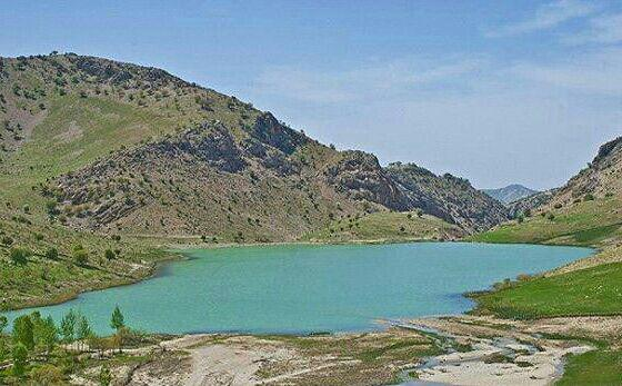 دریاچه برم سبز  دریاچه برم سبز