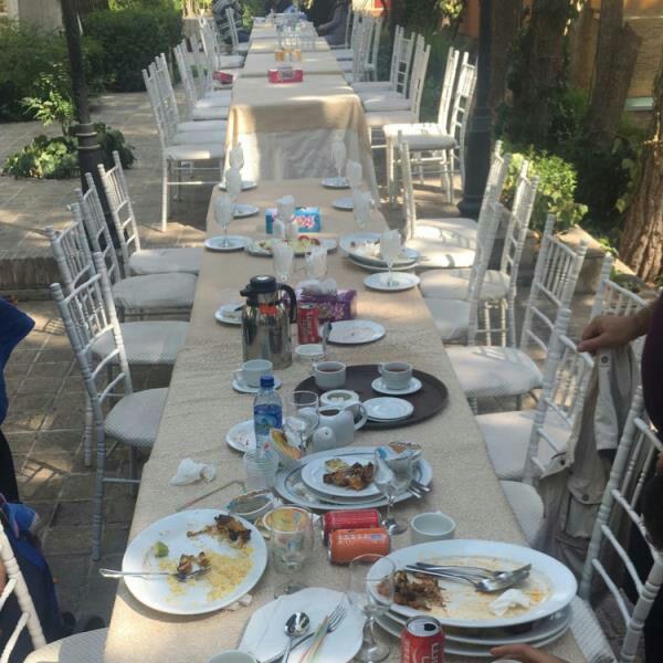 رستوران چایباغ تهران