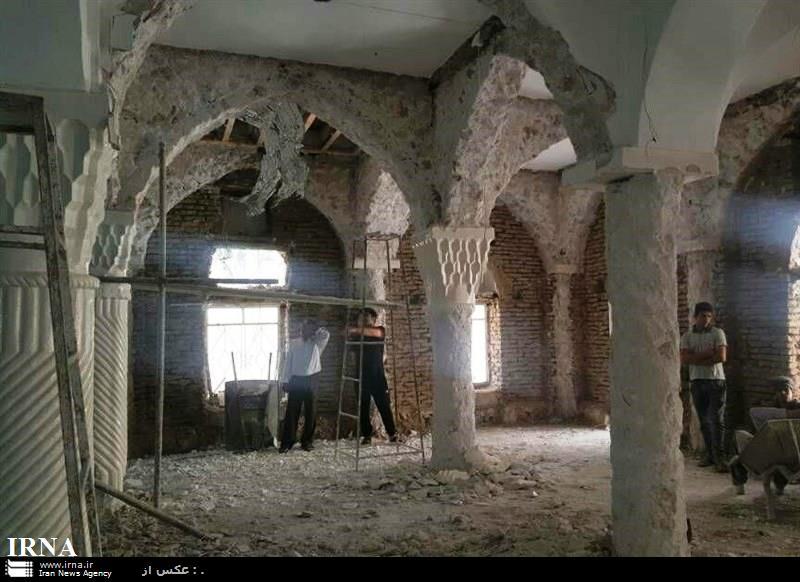 مدیر کل میراث فرهنگی فارس:مرمت مسجد خورلارستان بدون مجوزمیراث بوده است