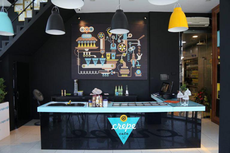 کرپ کافه تهران