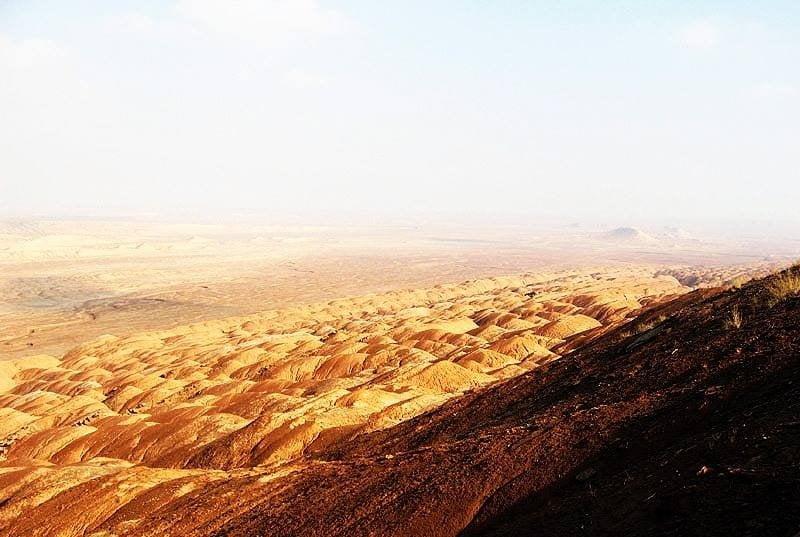 کویر کوه سرخ بیابانک
