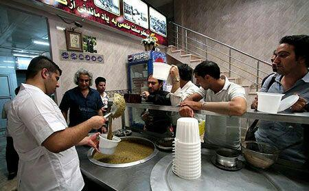 آش نیکوصفت تهران بهترین آش و حلیم تهران