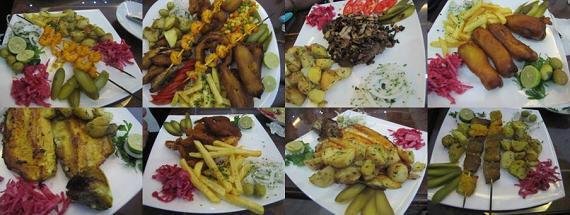 رستوران ماهی خوران تهران  رستوران ل ویه یا ماهی خوران سابق تهران