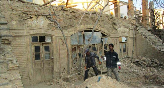 خانه تاریخی حاجباشی اراک مرمت خانه تاریخی حاجباشی اراک آغاز شد