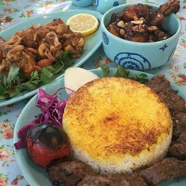 رستوران محلی لاهیجان