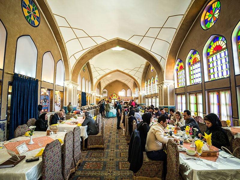 رستوران مشیرالممالک یزد