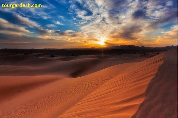 نمایی بی نظیر از کویر مصر طبیعت گردی با تورگردش