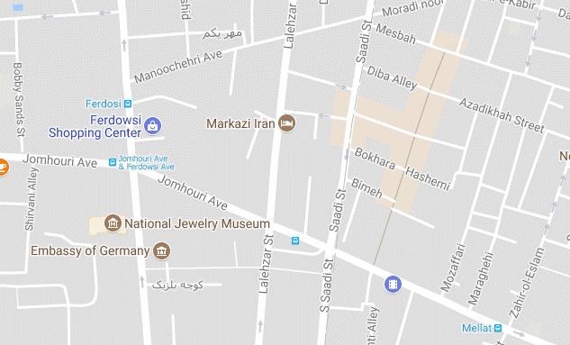 هتل سعید  تهران