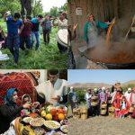 آیین های سنتی قزوین با بن مایه شادی و نشاط