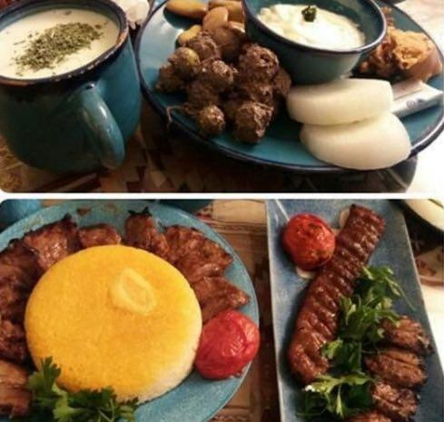 کافه رستوران بی نام تهران  کافه رستوران بی نام تهران