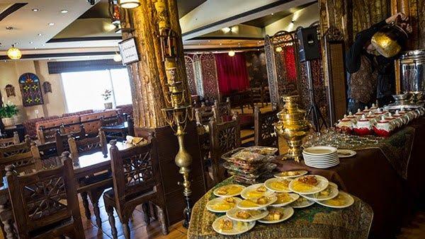 سفره خانه سنتی امپراطور تهران