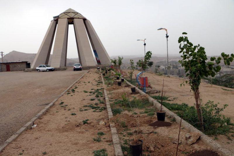تپه شهدای گمنام مسجد سلیمان