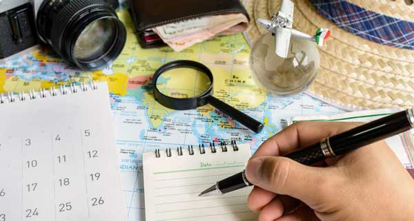 نکاتی برای برنامهریزی سفر