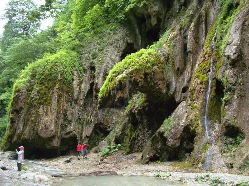 آبشار باران کوه از جاهای دیدنی گرگان جاهای دیدنی گرگان در بهار (20 جاذبه گردشگری گرگان)