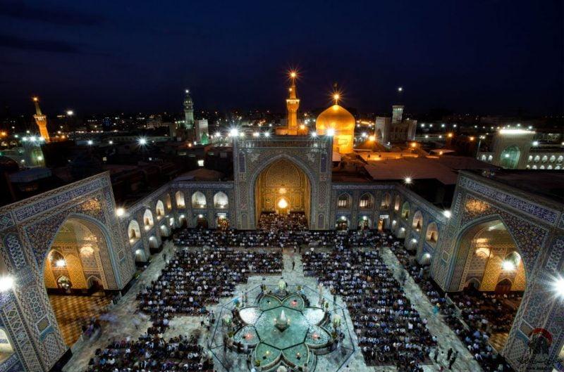 امام رضا از جاهای دیدنی ایران 100 جاهای دیدنی ایران که قبل از مرگ باید دید
