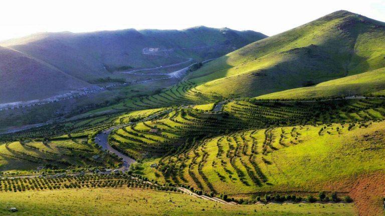جاهای دیدنی زنجان در بهار