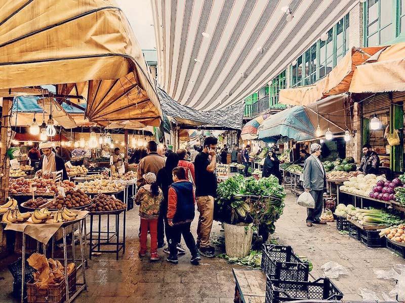 بازار نعلبندان از جاهای دیدنی گرگان جاهای دیدنی گرگان در بهار (20 جاذبه گردشگری گرگان)
