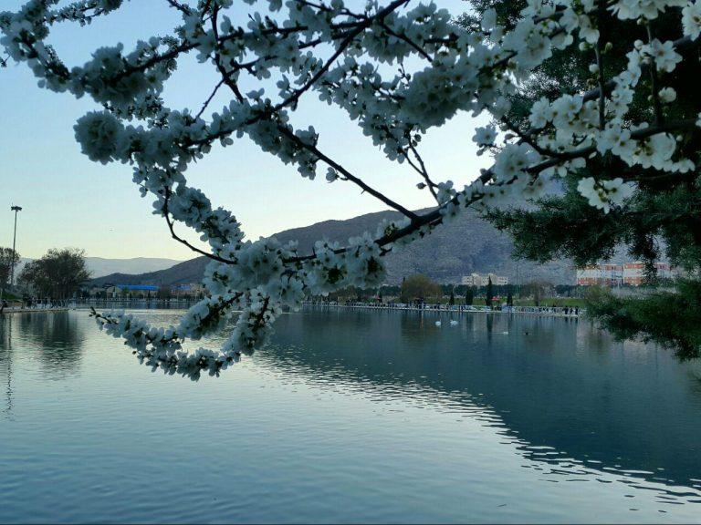 دریاچه کیو از جاهای دیدنی خرم آباد