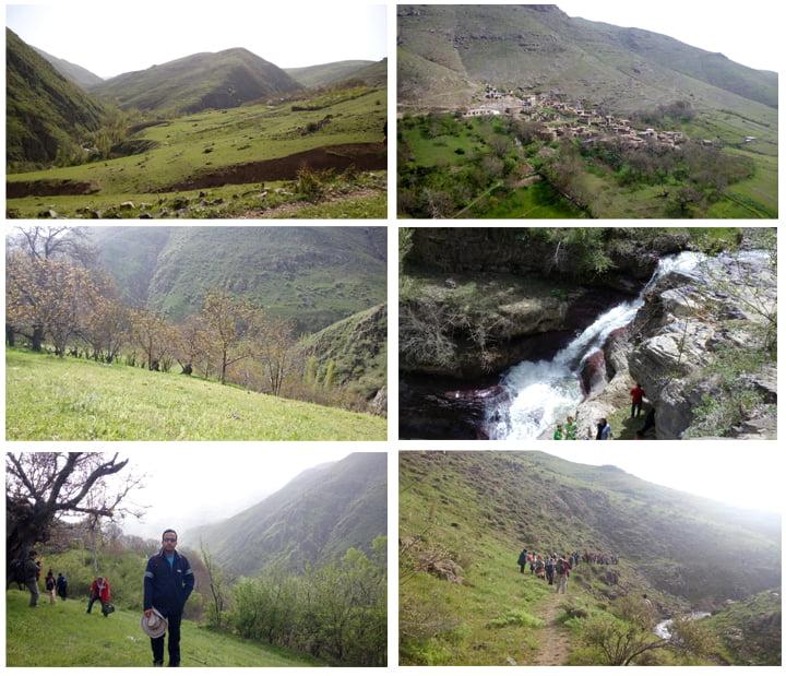 روستای بادامستان زنجان