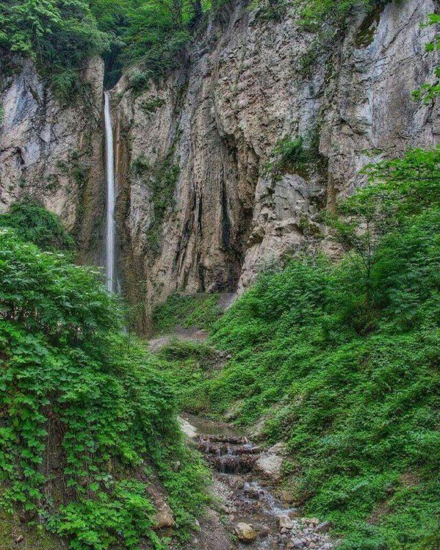 روستا و آبشار زیارت از جاهای دیدنی گرگان جاهای دیدنی گرگان در بهار (20 جاذبه گردشگری گرگان)