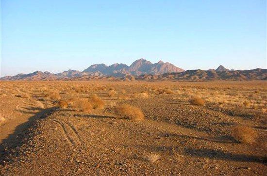 پارک ملی کویر جاهای دیدنی سمنان در بهار
