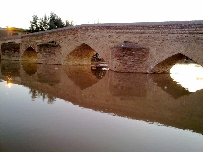 پل آق قلا از جاهای دیدنی گرگان جاهای دیدنی گرگان در بهار (20 جاذبه گردشگری گرگان)
