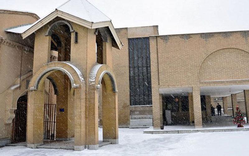 کلیسای مسروپ مقدس از جاهای دیدنی اراک جاهای دیدنی اراک در بهار