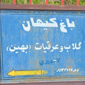 باغ کیهان  باغ کیهان قمصر