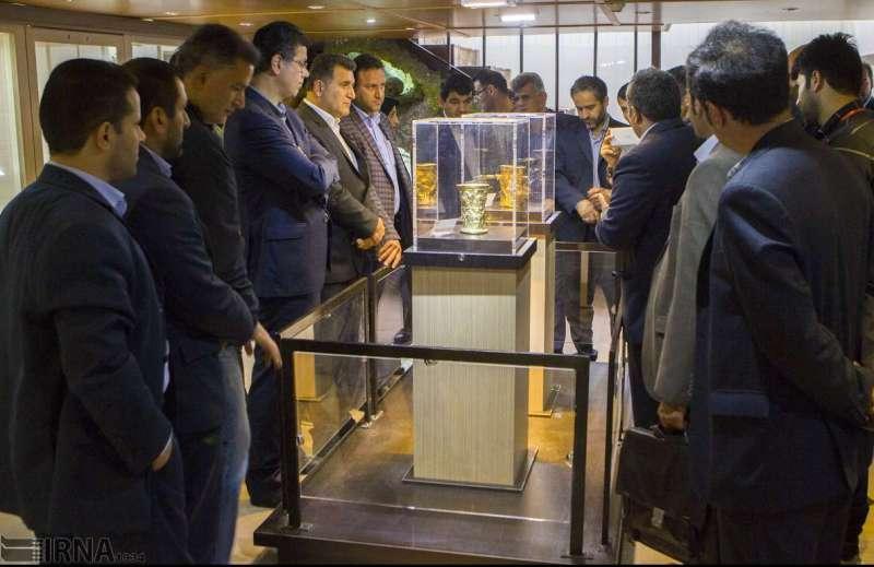 موزه  هشت هزار نفر از اشیاء زرین عصر آهن بازدید کردند